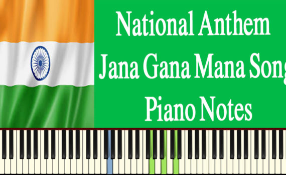 Jana Gana Mana Piano Notes