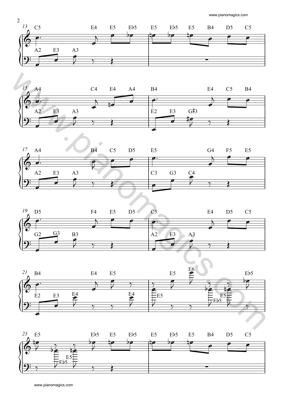 beethoven fur elise piano sheet 02